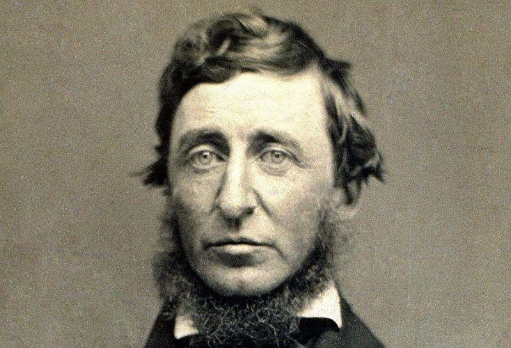Thoreau. Se lo considera uno de los primeros naturalistas.