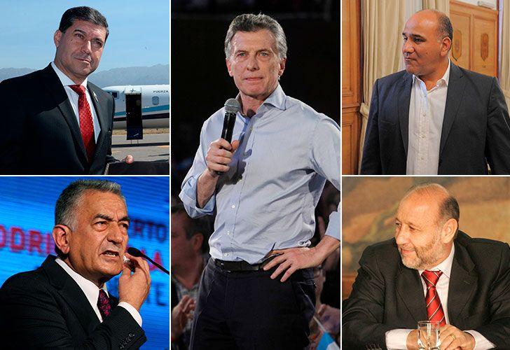 Mauricio Macri confía en arrebatarle el poder a 4 gobernadores peronistas en 2019