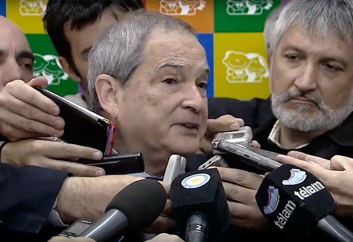 Lemus, ministro de Salud.