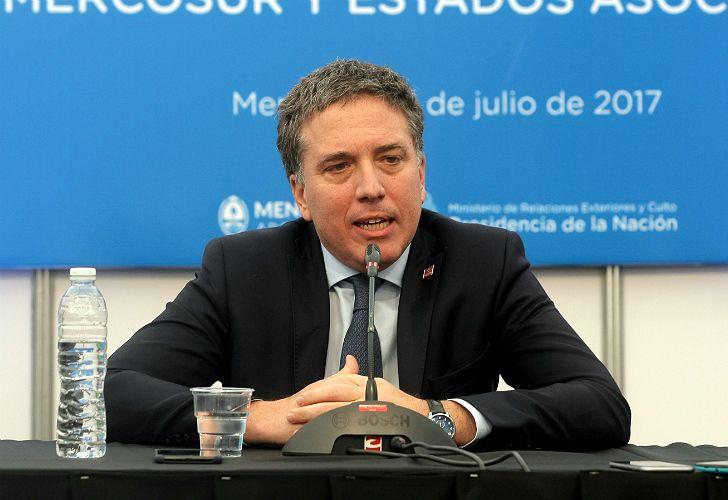 Nicolás Dujovne, eje de la economía.