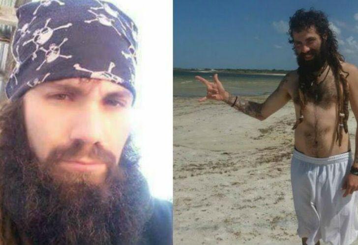 Las fotos que se viralizaron durante las dos semanas que lleva desaparecido Maldonado.