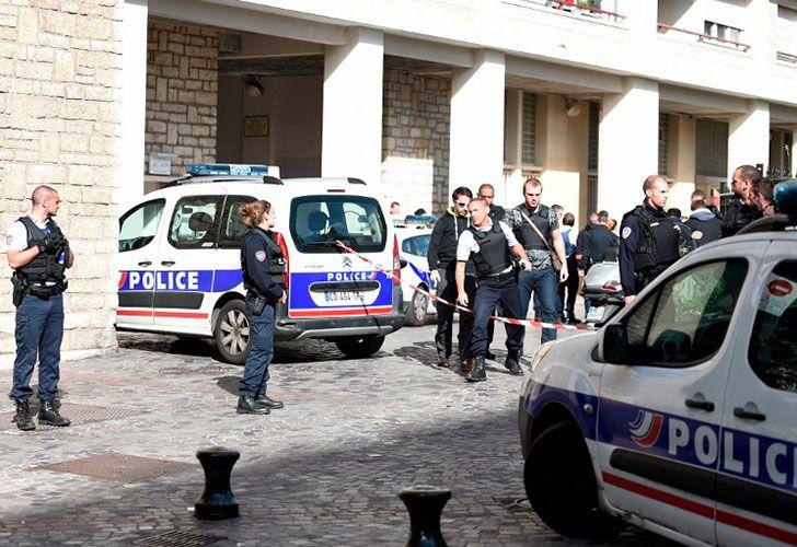 Atentado en Paris
