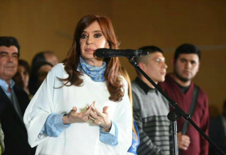 Cristina Cerró su campaña en La Matanza