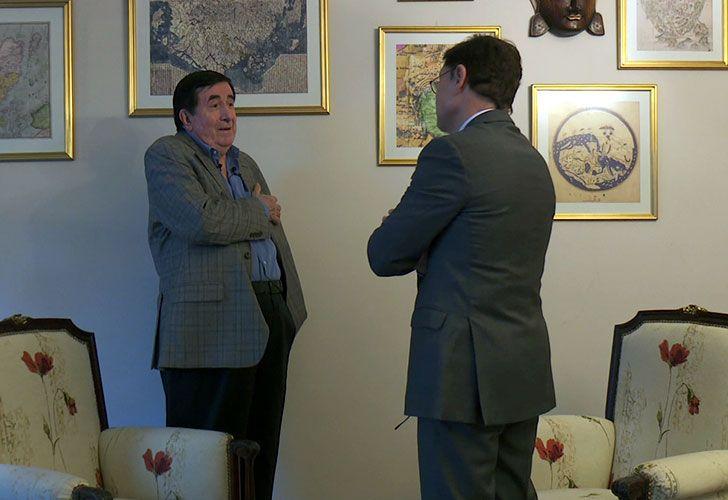 Entrevista de Jorge Fontevecchia a Duran Barba