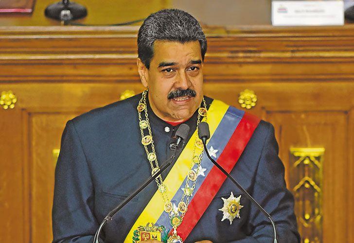 Duro. El presidente venezolano ofreció a última hora de anteayer su primer discurso ante la Asamblea Constituyente, mientras siguen los choques entre antichavistas y la policía.