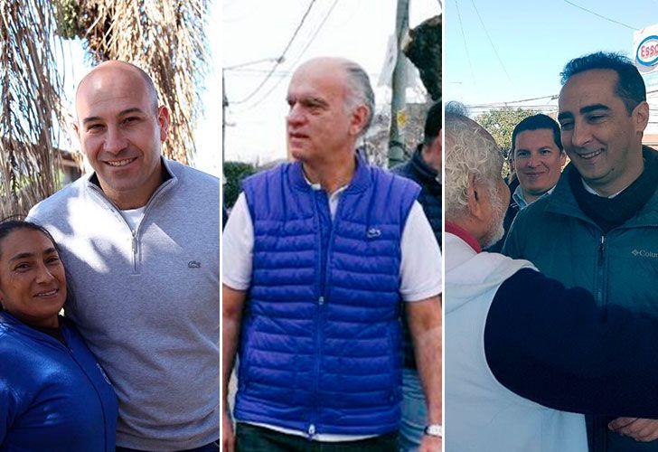 Molina (Quilmes), Grindetti (Lanús) y Tagliaferro (Morón) cuentan con minoría legislativa en sus municipios.