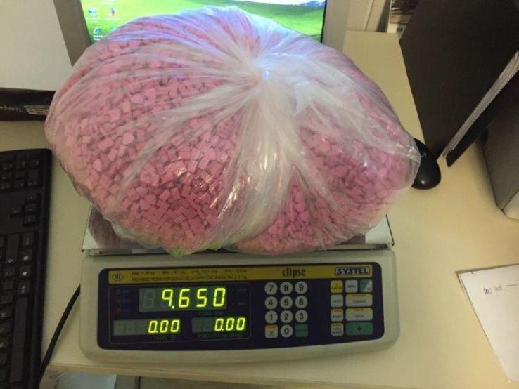 OPERATIVOS. En Córdoba ya se han concretado cuatro procedimientos donde se incautaron dosis de éxtasis por un valor superior a los 50 millones de pesos.
