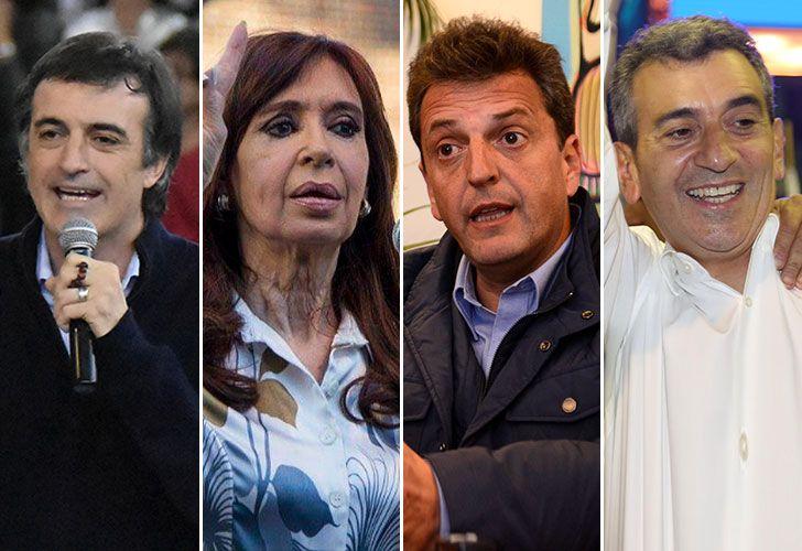 Esteban Bullrich, Cristina Kirchner, Massa, Randazzo
