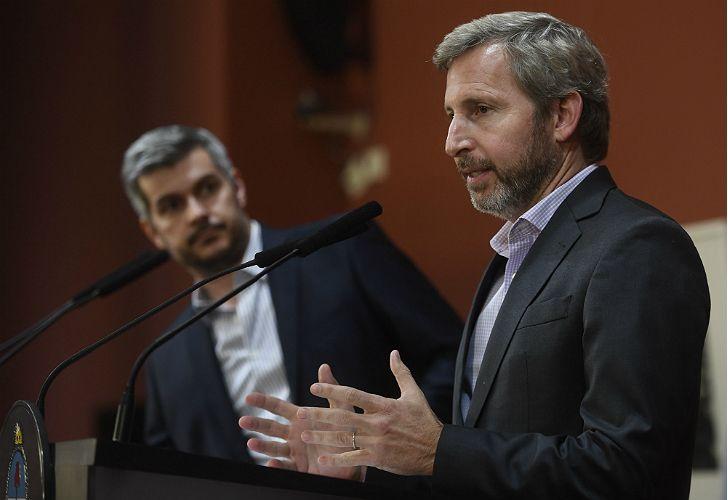 Frigerio también salió a responder a la oposición.