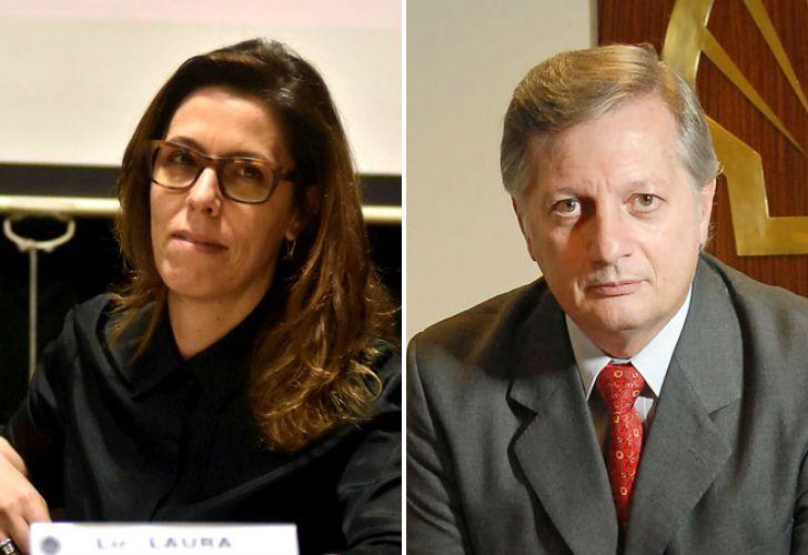 Laura Alonso y Juan José Aranguren.