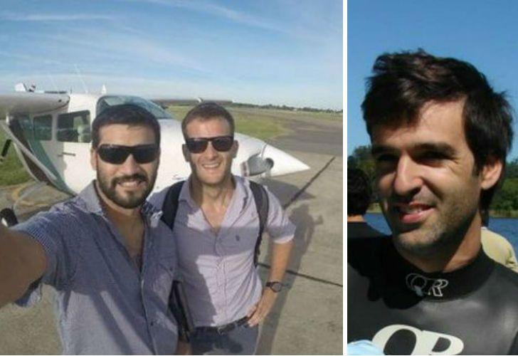 Matías Ronzano y Facundo Vega, los unía además del trabajo, una amistad. Matías Aristi era el hijo del dueño de la compañía propietaria de la aeronave.