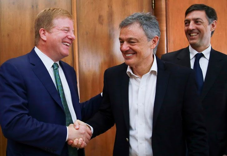Acuerdo. Brilliant se reunió con Cabrera. Representará al país en DC, con Herrington y Quiróz.