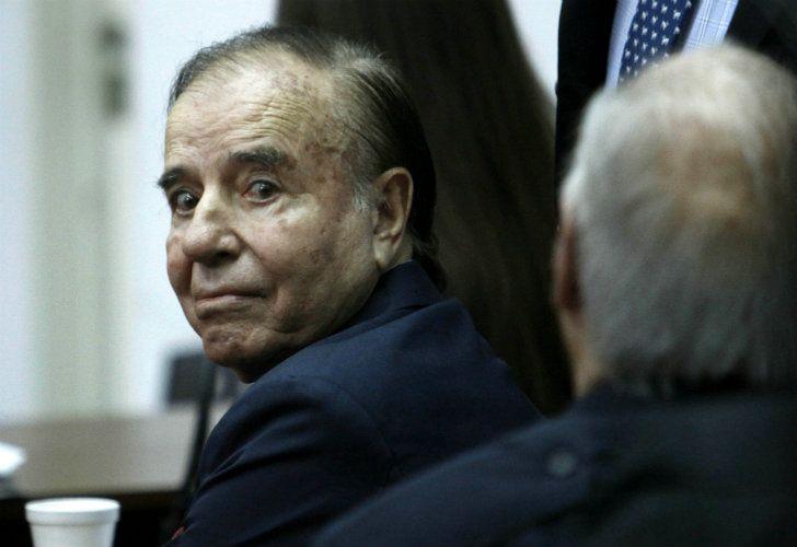 RIOJANO. El senador tiene 87 años y dos condenas en su contra.