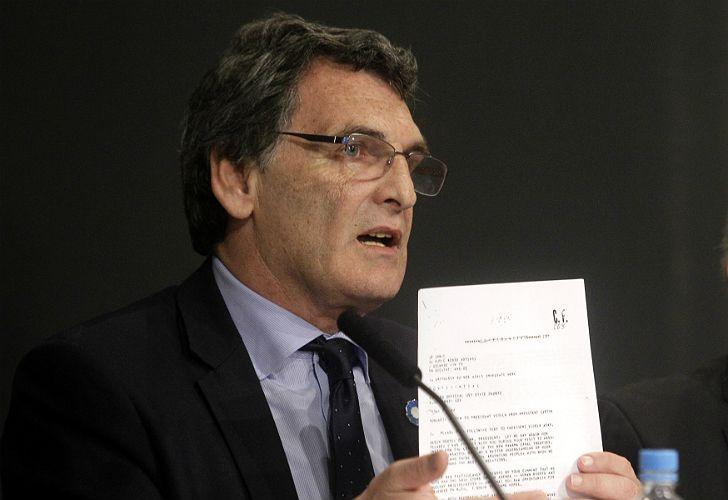 El secretario de Derechos Humanos, Claudio Avruj.