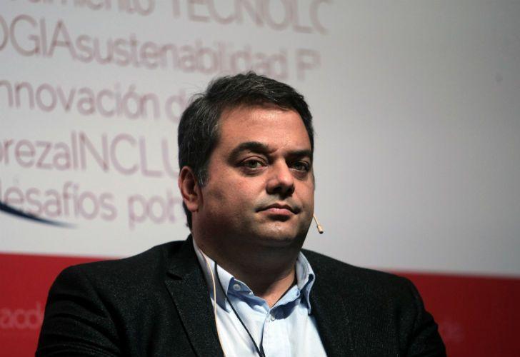 Jorge Triaca, ministro de Trabajo.