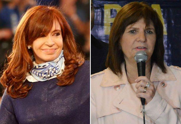 Patricia Bullrich le respondió a Cristina Fernández de Kirchner.