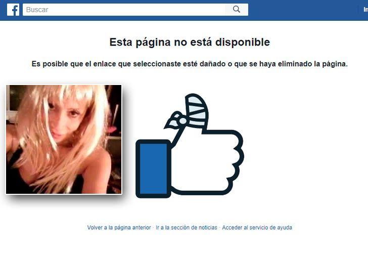 El usuario de Caro Krúpskaya fue borrado de Facebook.