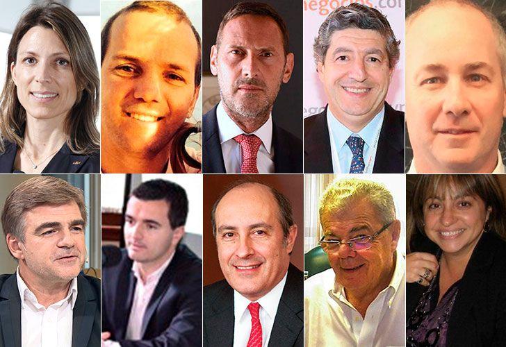 Son ex gerentes y directores de empresas que se sumaron al Gobierno apenas asumió Macri. Algunos se alejaron por conflictos de intereses y otros por diferencias internas.