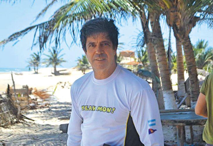 Excentrico. Pablo Noceti estuvo once años en la justicia criminal federal. Como abogado de estudios privados, defendió a militares.