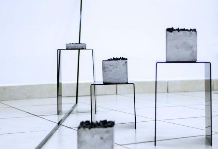 """Más de 300 invitados pudieron contemplar la muestra """"Vértigo"""" de Lorena Marchetti."""