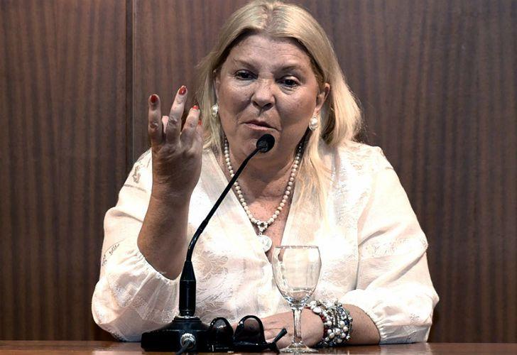 La diputada chaqueña Elisa Carrió.