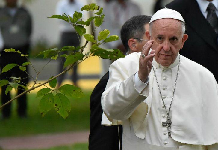 El Papa Francisco en Colombia.