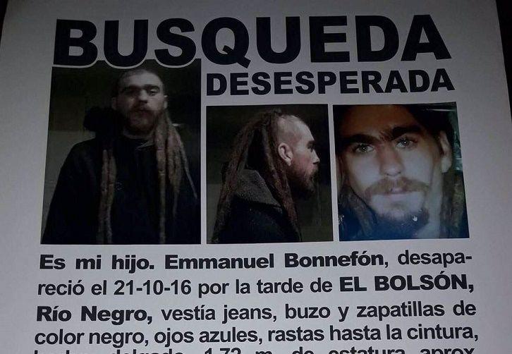 El joven desaparecido que podrían haber confundido con Santiago Maldonado