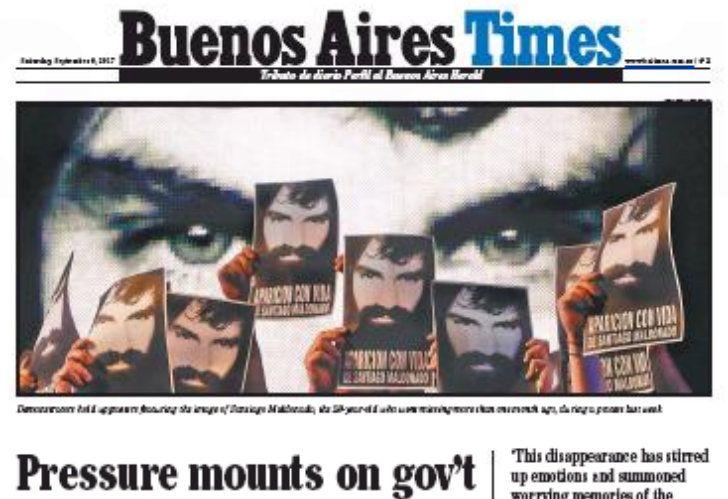 BA Times, tributo de Diario PERFIL a Buenos Aires Herald.