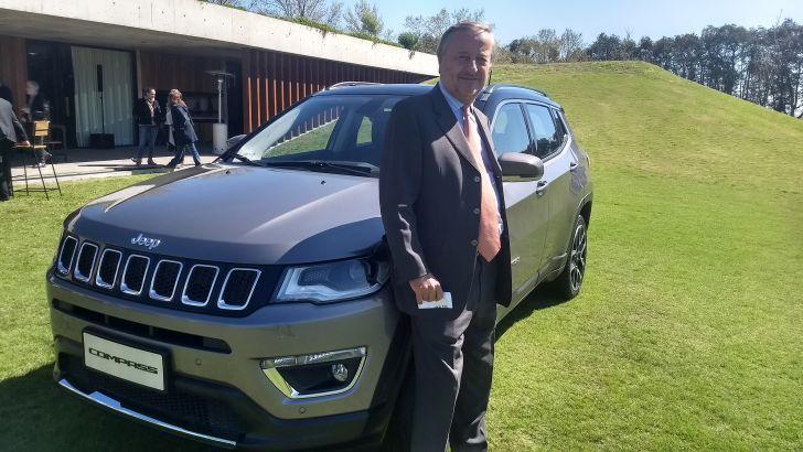 El presidente de FCA Argentina participó en el lanzamiento del Jeep Compass y analizó el escenario económico que se viene.