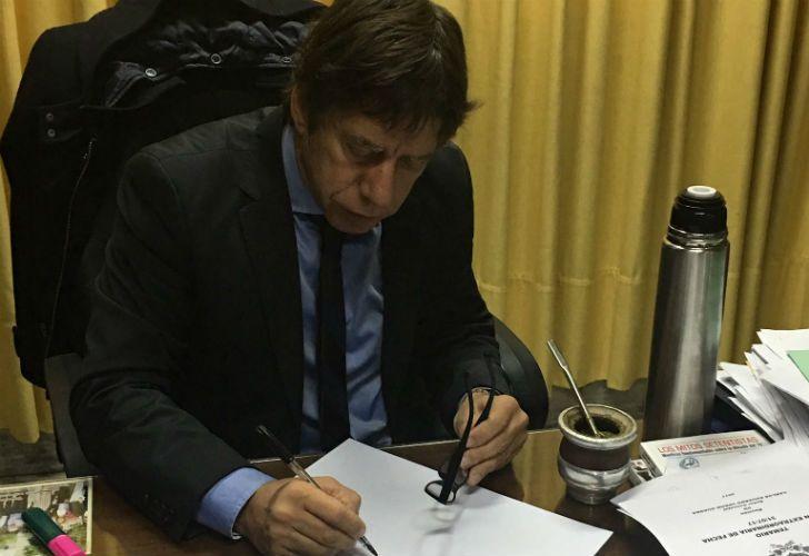 El concejal y candidato a diputado nacional por Fuerza Republicana, Ricardo Bussi.