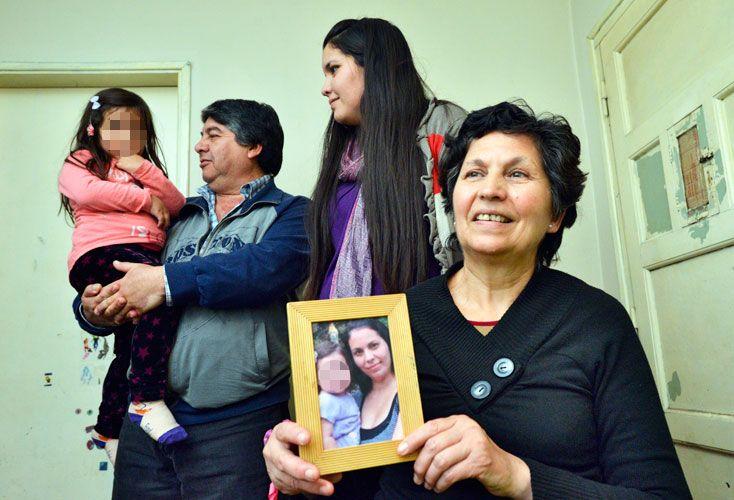 PRESENTE. Martina cumplió 4 años. Vive con sus abuelos y su tía en el barrio Talleres.