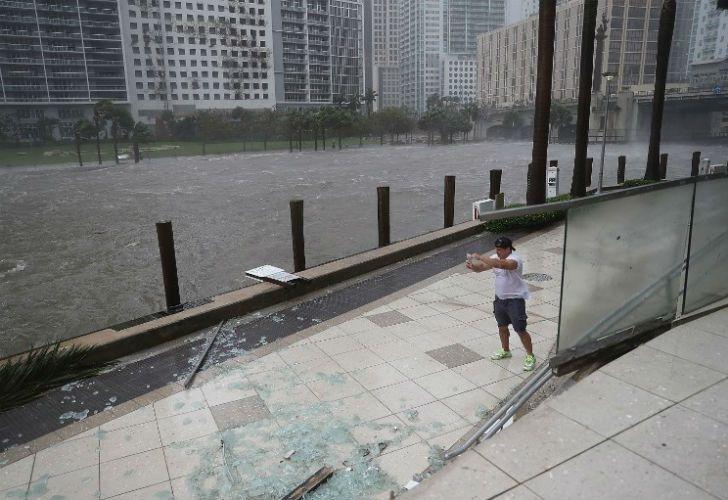 Las imágenes del huracán que azotó el Estado de Florida, en EEUU.