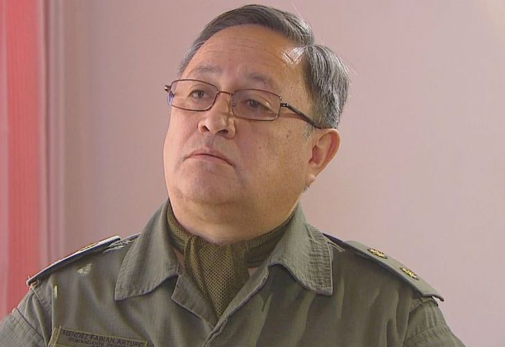 Fabián Méndez, jefe de Gendarmería de El Bolsón