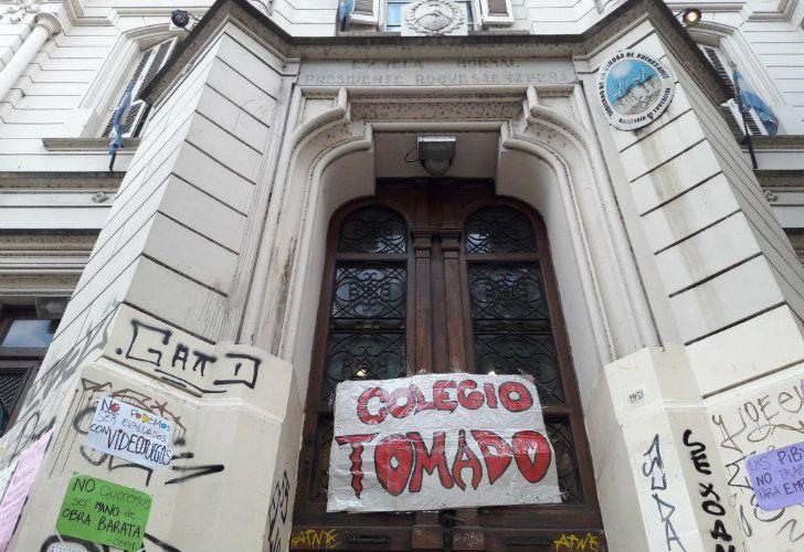 Hay 25 colegios tomados en la Ciudad de Buenos Aires.