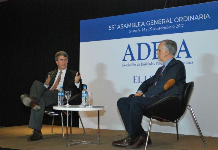 El ex ministro de Hacienda y Finanzas, Alfonso Prat-Gay.