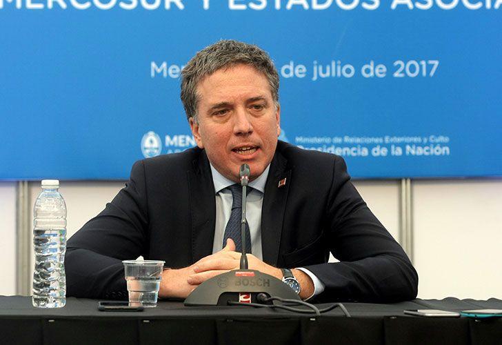 Ministro Nicolás Dujovne