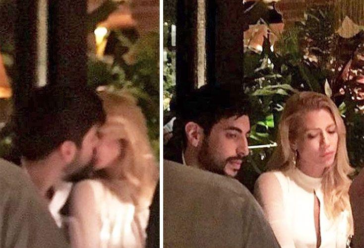 Infraganti. Facundo y Nicole a los besos en España.