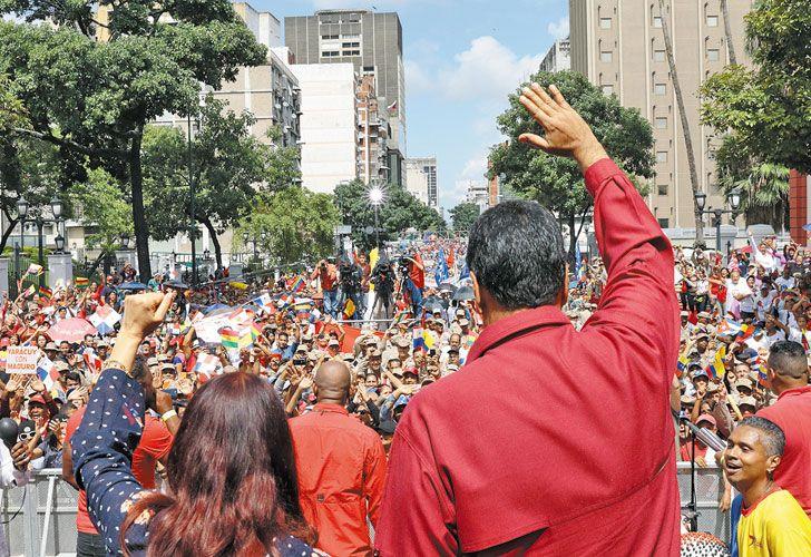 Aislado. Maduro sigue perdiendo apoyos a nivel internacional.