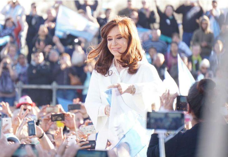Cristina Kirchner en Florencio Varela.