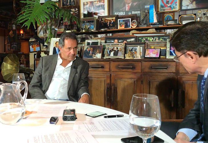 Daniel Scioli fue entrevistado por Jorge Fontevecchia