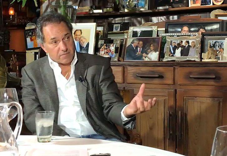 Fontevecchia entrevistó a Daniel Scioli.