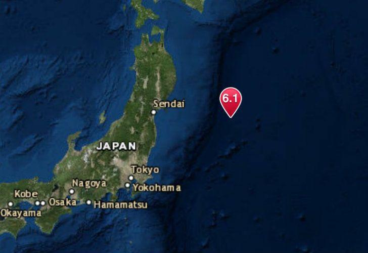 Un terremoto de 6,1 sacudió Japón.