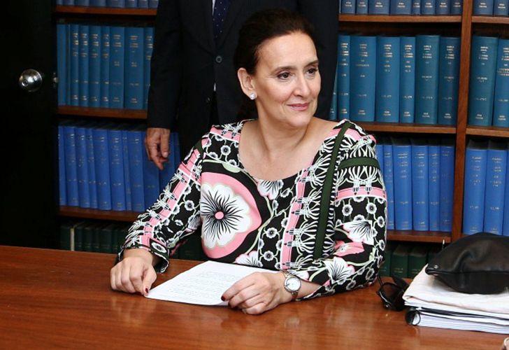 La Vicepresidenta Gabriela Michetti