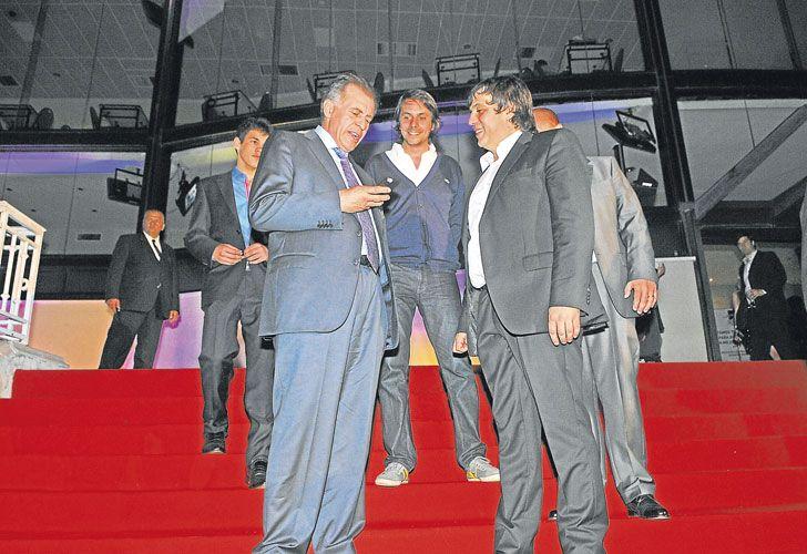 Dueños. López y De Sousa buscan desde hace tiempo fondos para sostener su emporio de medios.