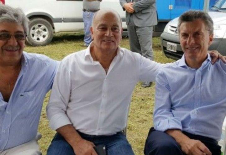 De izq. a der.: Ayala, Venegas y Macri.