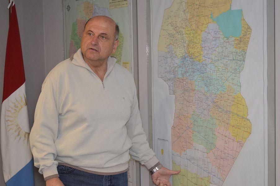 CUESTIONADO. Tras liderar el bloque de intendentes del PJ, en 2016 Osvaldo Vottero asumió en Vialidad.