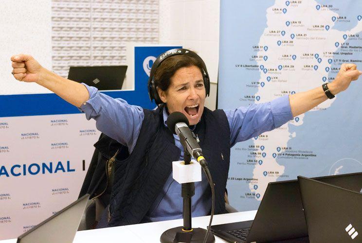 Feliz. Sandra Mihanovich se siente cómoda trabajando con la actual administración de la emisora. Planea, además, un nuevo disco.