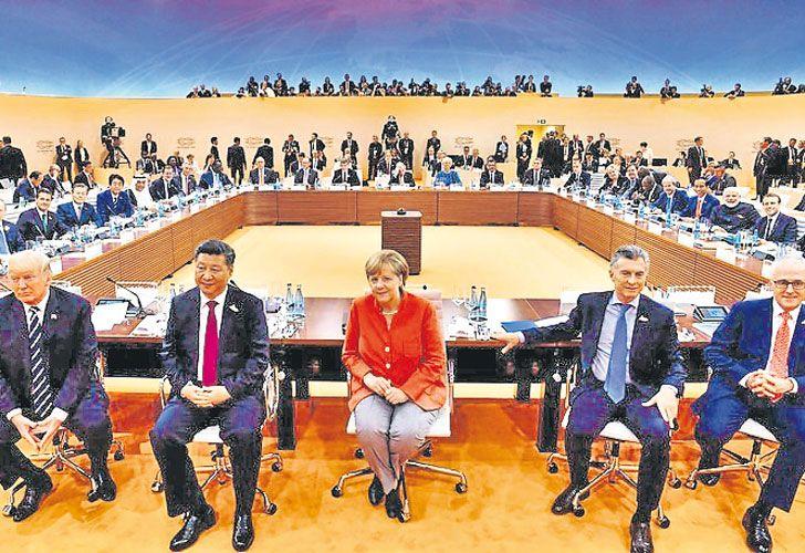 Poder. La última reunión del G20, en Alemania. China, eje del mundo global.
