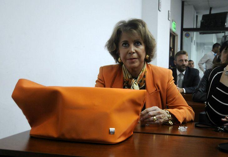 María Julia Alsogaray tenía 74 años. Murió en el sanatorio Los Arcos.
