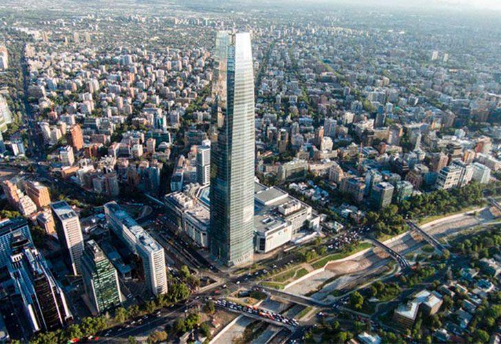 Shopping Costanera Center en Chile